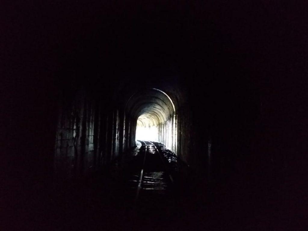 Túnel ferroviário entre SP e MG, que marcou confrontos na revolução de 32 (Marcelo Boncompani)