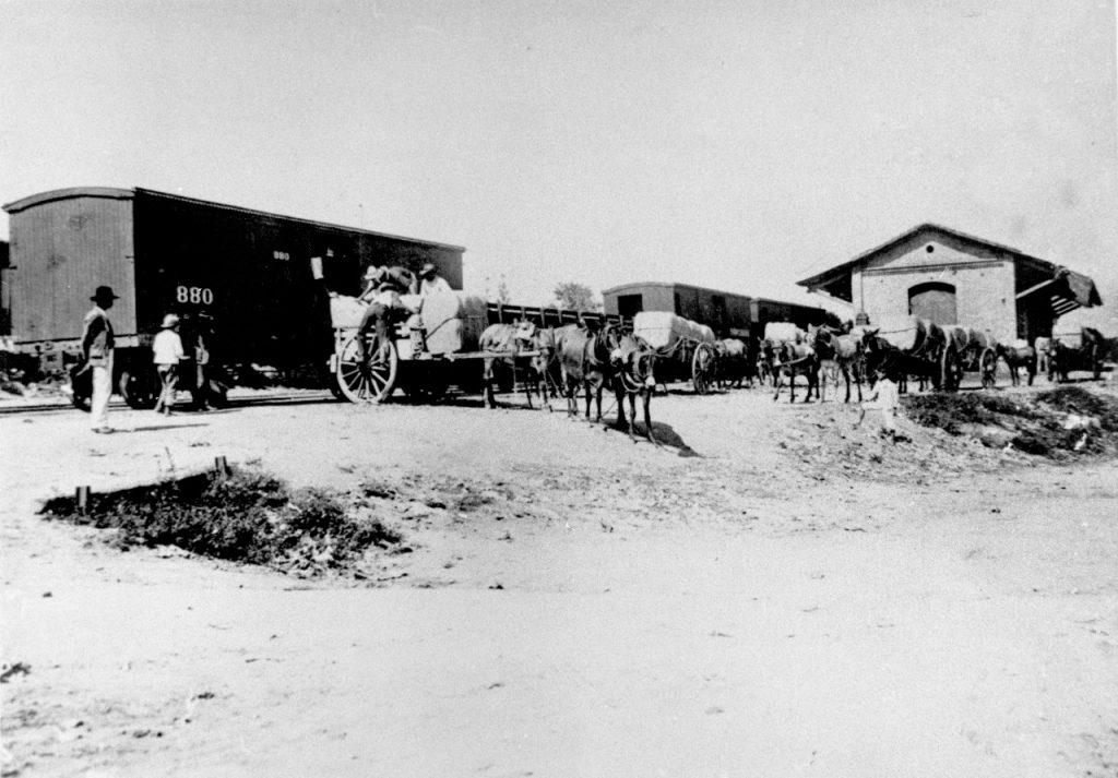 A antiga estação ferroviária de Salto, que integra a rota do trem entre a cidade e Itu (Reprodução)